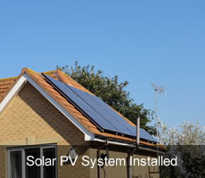 4KW Solar Panel System Installed